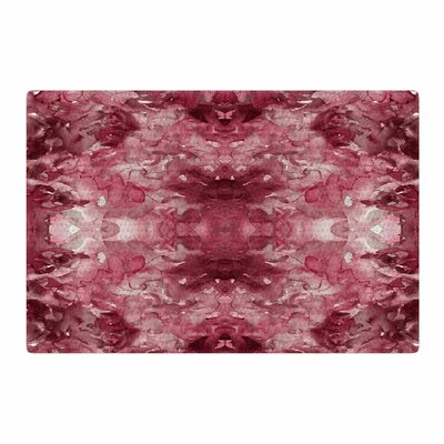 Ebi Emporium Tie Dye Helix Burgundy Abstract Red Area Rug Rug Size: 2 x 3