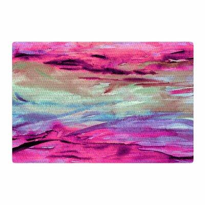 Ebi Emporium Unanchored 4 Pink/Lavender Area Rug Rug Size: 2 x 3