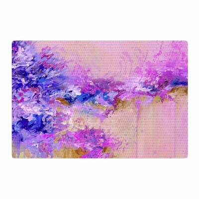 Ebi Emporium When Land Met Sky 2 Purple/Pink Area Rug Rug Size: 2 x 3