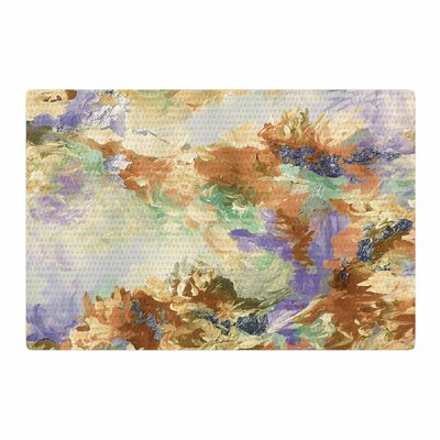 Ebi Emporium When We Were Mermaids 10 Lavender/Tan Area Rug Rug Size: 2 x 3