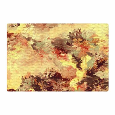 Ebi Emporium When We Were Mermaids 9 Yellow/Tan Area Rug Rug Size: 2 x 3