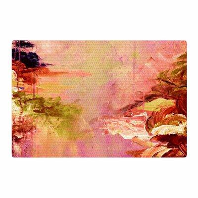Ebi Emporium Winter Dreamland 3 Pink/Orange Area Rug Rug Size: 2 x 3