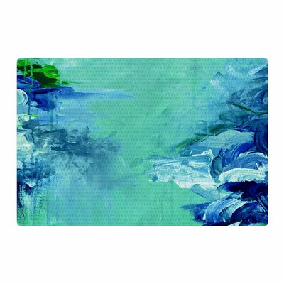 Ebi Emporium Winter Dreamland 6 Green/Blue Area Rug Rug Size: 2 x 3