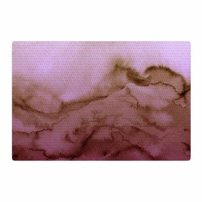 Ebi Emporium Winter Waves 8 Pink/Tan Area Rug Rug Size: 2 x 3