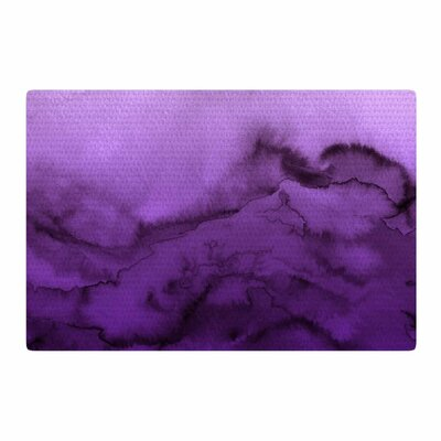 Ebi Emporium Winter Waves 9 Abstract Purple Area Rug Rug Size: 2 x 3