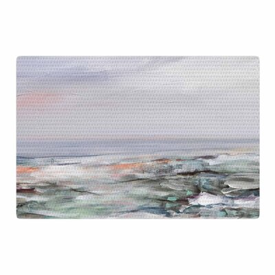 Iris Lehnhardt Coastal Scenery Abstract Pastel Area Rug Rug Size: 4 x 6