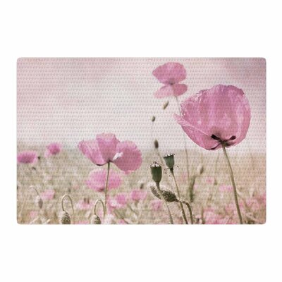 Iris Lehnhardt Summer Dream Floral Pink Area Rug Rug Size: 4 x 6