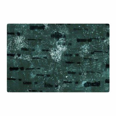 Iris Lehnhardt Tex Mix Jade Abstract Green Area Rug Rug Size: 2 x 3