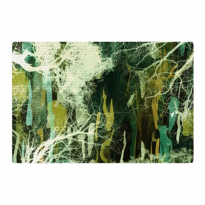 Iris Lehnhardt Tree of Life Nature/Green Area Rug Rug Size: 2 x 3