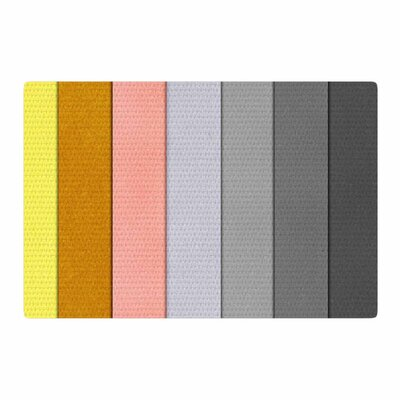 Ivan Joh Sandy Road Gray/Pink Area Rug Rug Size: 4 x 6