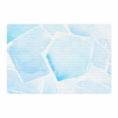 Jennifer Rizzo Quartz Watercolor Blue Area Rug Rug Size: 2 x 3