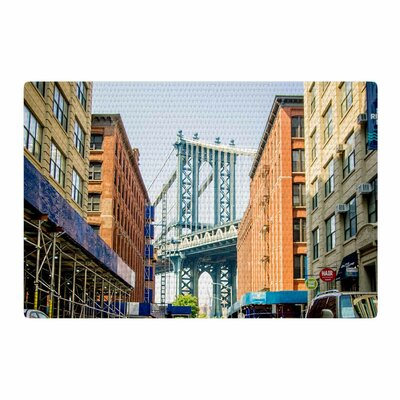 Juan Paolo Dumbo Urban Photography Blue Area Rug Rug Size: 4 x 6