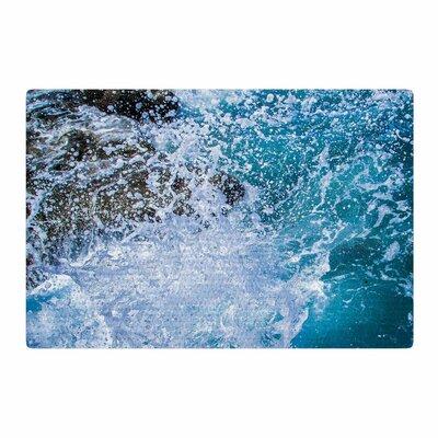 Juan Paolo La Jolla Shores Blue/White Area Rug Rug Size: 4 x 6