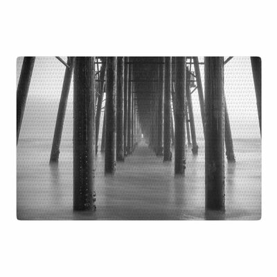 Juan Paolo Vanishing Point Coastal Photography Gray Area Rug Rug Size: 2 x 3
