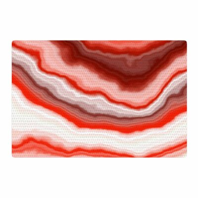 Arizona Sky Red/White Area Rug Rug Size: 2 x 3