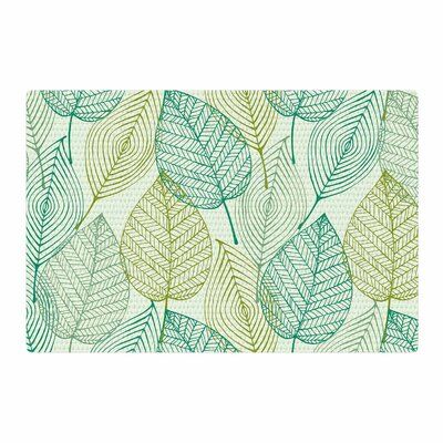Make Like a Tree Pattern Green Area Rug Rug Size: 2 x 3
