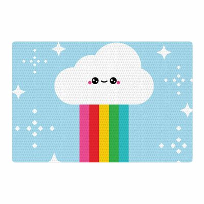 Mr. Rainbow Kids Area Rug Rug Size: 2 x 3