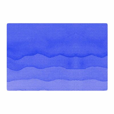 Berry Digital Blue/Ombre Area Rug Rug Size: 2 x 3