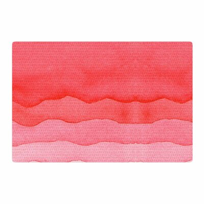 Cherries Abstract Ombre/Pink Area Rug Rug Size: 4 x 6