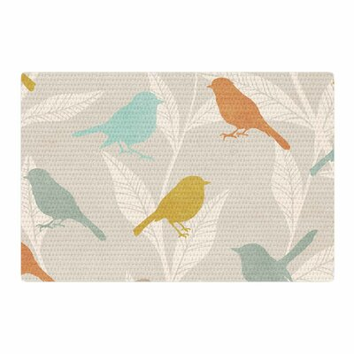 Tweet Pastel/Nature Area Rug Rug Size: 4 x 6