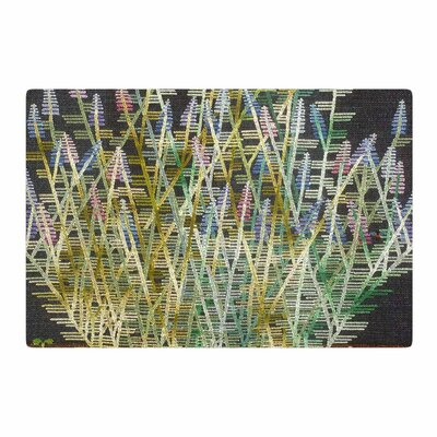 Laura Nicholson Russian Sage Green/Yellow Area Rug Rug Size: 2 x 3