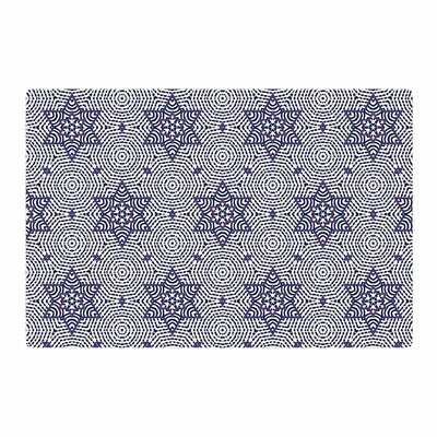 Laura Nicholson Star Power Geometric Blue Area Rug Rug Size: 4 x 6