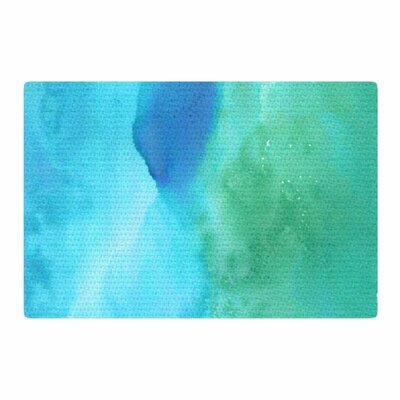 Li Zamperini Marine Green/Blue Area Rug Rug Size: 2 x 3