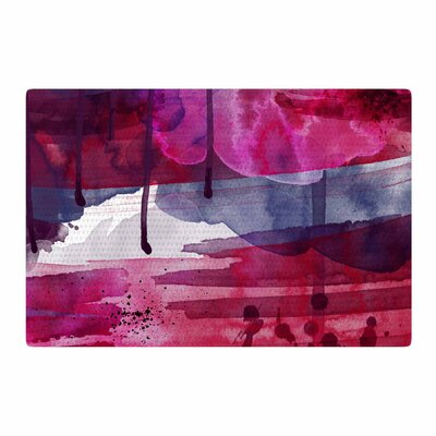 Li Zamperini Purple/Pink Area Rug Rug Size: 2 x 3