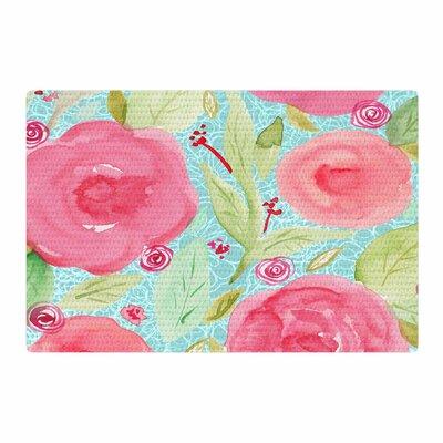 Li Zamperini Spring Floral Pink Area Rug Rug Size: 4 x 6