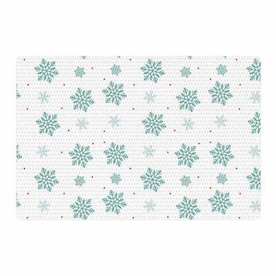 Louise Snow Pastel/White Area Rug Rug Size: 2 x 3