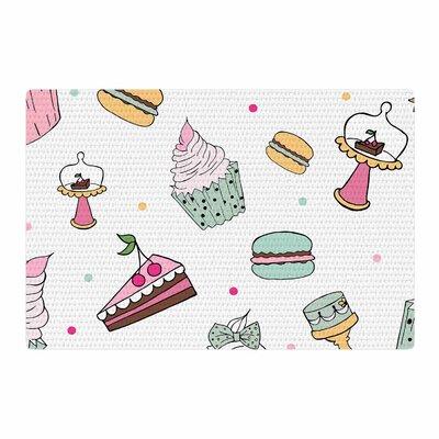 Louise Sweet Sweet Cake Food Pastel Area Rug Rug Size: 2 x 3