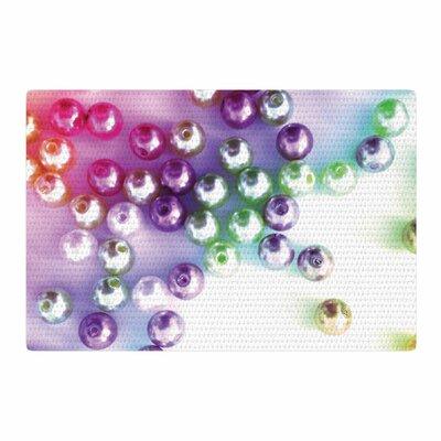 Louise Machado Pearl Magenta/Purple Area Rug Rug Size: 4 x 6