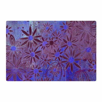 Marianna Tankelevich Night Purple/Blue Area Rug Rug Size: 2 x 3