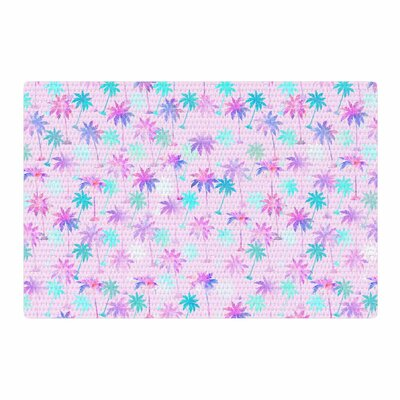 Marta Olga Klara Palm Tree Pattern Digital Pastel Area Rug Rug Size: 4 x 6