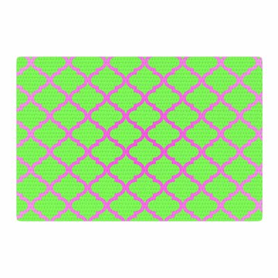 Matt Eklund Culture Shock Watermelon Green/Pink Area Rug Rug Size: 2 x 3