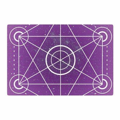 Matt Eklund Dalaran Geometric Purple Area Rug Rug Size: 4 x 6
