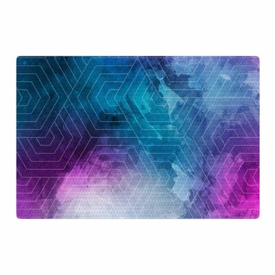 Matt Eklund Going Home Blue/Purple Area Rug Rug Size: 4 x 6