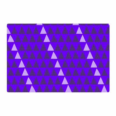 Matt Eklund Overload Digital Purple Area Rug Rug Size: 2 x 3