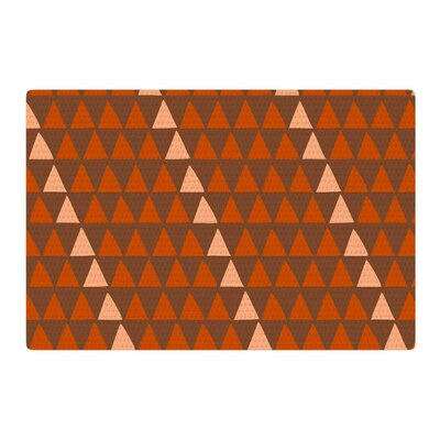 Matt Eklund Overload Autumn Brown/Orange Area Rug Rug Size: 2 x 3
