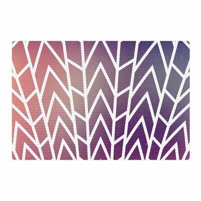 Matt Eklund Shattering Sunsets Purple Area Rug Rug Size: 4 x 6