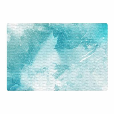 Matt Eklund Skyward Blue/White Area Rug Rug Size: 4 x 6