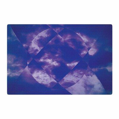 Matt Eklund Spectral Purple/Blue Area Rug Rug Size: 4 x 6