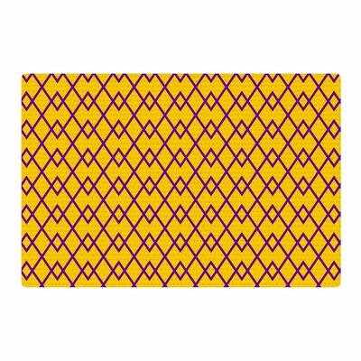 Matt Eklund St. Augustine Pride Abstract Purple Area Rug Rug Size: 4 x 6