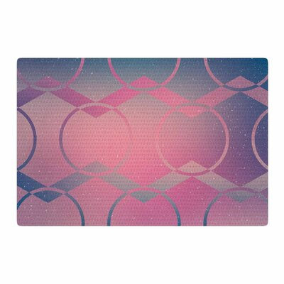 Matt Eklund Switched Pink/Blue Area Rug Rug Size: 2 x 3