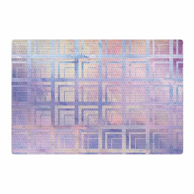 Matt Eklund Tiled Dreamscape Pink/Purple Area Rug Rug Size: 4' x 6'