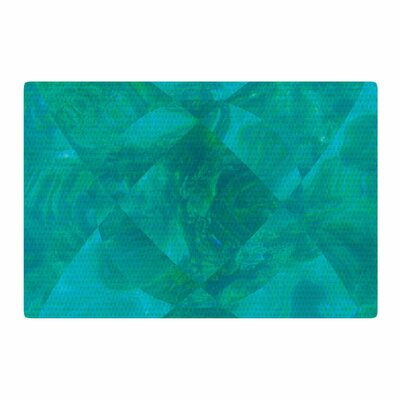 Matt Eklund Under the Sea Teal/Green Area Rug Rug Size: 2 x 3