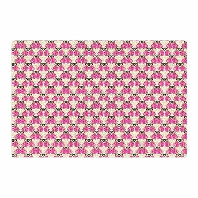 Mayacoa Studio Rosea Yellow/Pink Area Rug Rug Size: 4 x 6