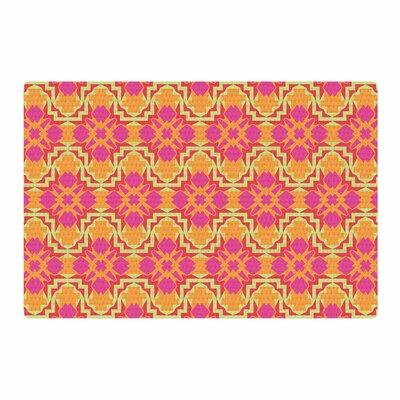 Miranda Mol Jazzy Orange/Pink Area Rug Rug Size: 2 x 3