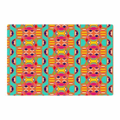 Miranda Mol Summer Fun Treal Orange Area Rug Rug Size: 2 x 3