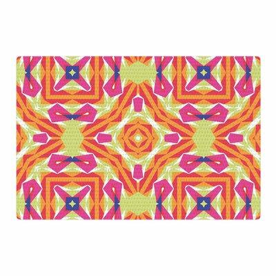 Miranda Mol Summer Vibes Pink/Blue Area Rug Rug Size: 2 x 3